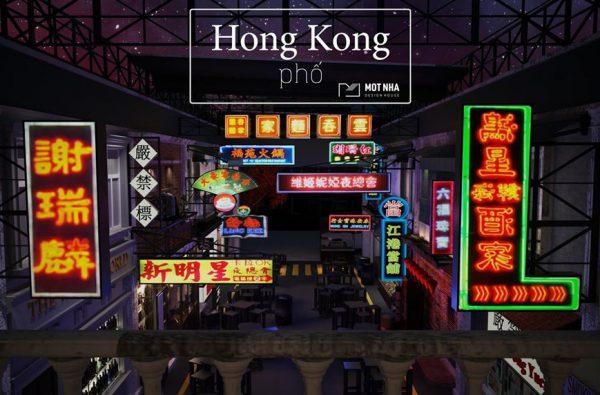 Hong Kong phố